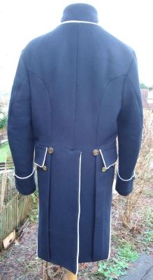 Napoleonic Regency Naval Lieutenant Frock Coat Available in all sizes