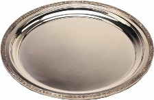 Large Pewter Celtic Tray (w)