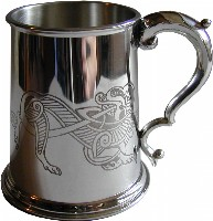 1pt Celtic Lion Tankard