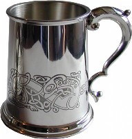 1pt Celtic Dragon Tankard (w)