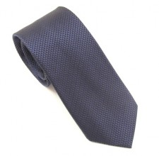 NAVY BLUE LONDON PLAIN SILK TIE