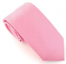BABY PINK LONDON PLAIN SILK TIE