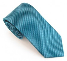 TEAL LONDON PLAIN SILK TIE