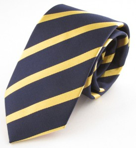 NAVY/GOLD STRIPE