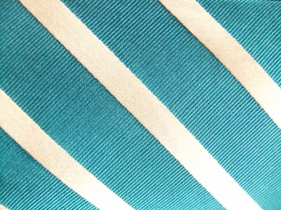TEAL/WHITE STRIPE