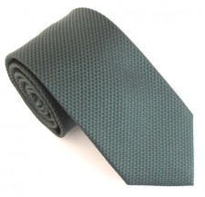 BOTTLE GREEN LONDON PLAIN SILK TIE