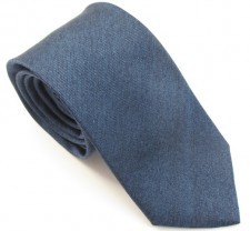 DENIM SOHO PLAIN SILK TIE