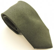 GREEN SOHO PLAIN SILK TIE