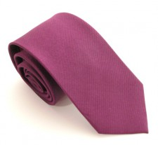 LIGHT PLUM RED LABEL PLAIN SILK TIE