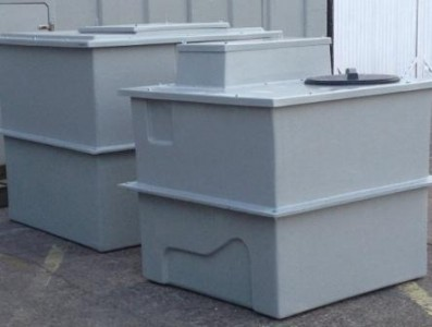 Semi Sectional (two piece) Water tank