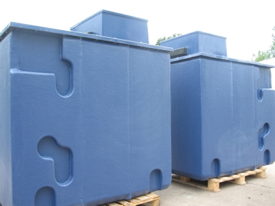 One Piece Pre-Insulated GRP Water Storage Tank
