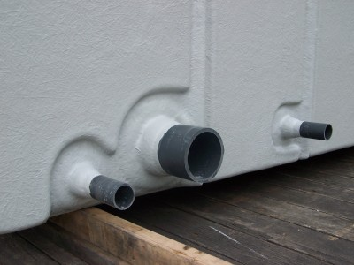 PN16 Stub Flanges - Laminated PVC Pipe
