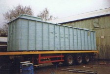 Water Storage Tank On Lorry