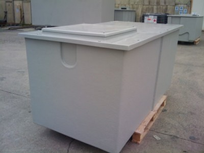 2x1x1m Pre-Insulated Water Tank
