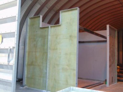 Sectional Tank Panels