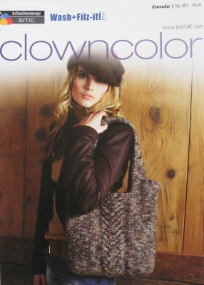 Clown Colour Shoulder Bag & Slippers