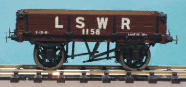 Gloucester Three-plank Dropsided P.O. Wagon