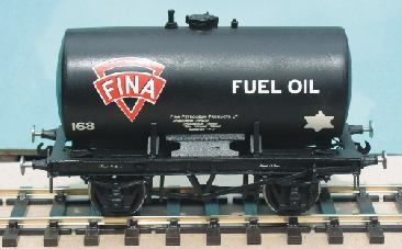 14-ton Anchor Mounted Petrol Tank Wagon