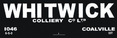 Whitwick Colliery Co. Ltd.