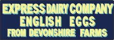 Express Dairies, Devonshire Eggs