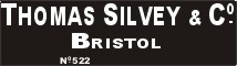 Thomas Silvey and Co., Bristol.