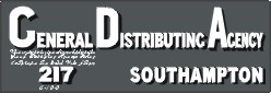 General Distribution Agency, Southampton.