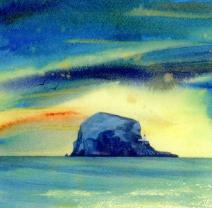 Bass Rock (Turquoise)