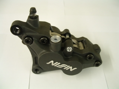 B650 Front Brake Caliper Nissin 4 piston type (left) Triumph or Nissin