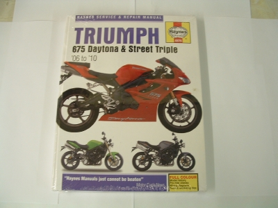 Haynes 675 Daytona and Street Triple Manual