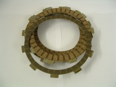 Clutch plate set. 600 models.