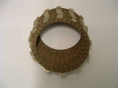 Clutch plate set. 955 models (early engine)
