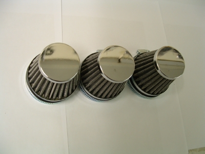 Seperate air filters to fit 3 cylinder models (Mikuni carburettor)
