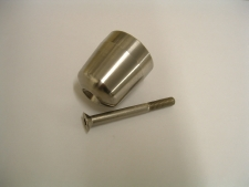 H691 Handlebar end weight stainless steel. Trident, Trophy, Sprint 900