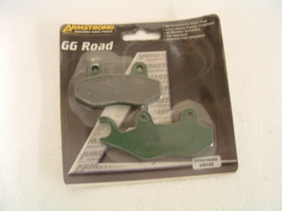 Brake pad Armstrong front/rear Trident, Trophy, Sprint