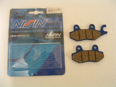 Brake pad Nissin front/rear Trident, Trophy, Sprint