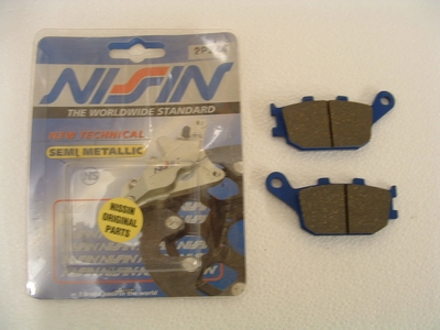 Brake pad rear Nissin 675 Daytona, Street Triple, Tiger 800, TT600
