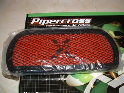 Air Filter Pipercross Thunderbird 900, Adventurer and Legend