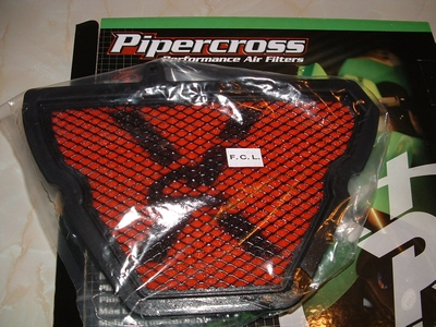 Air filter Pipercross for 1050 Tiger, Speed Triple and Sprint ST.