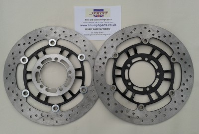 D010 Front Discs Daytona 675, Street Triple, TT600 and Daytona 600/650