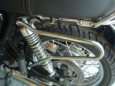 Soft Luggage Rails Bonneville, T100, Thruxton and SE