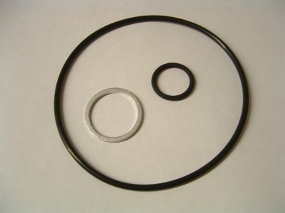 J142 Oil Filter O-Rings and Sump Plug Washer Trident Trophy