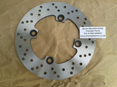 Rear Disc 220 mm T595, T509, 955 Daytona, 955 Speed Triple