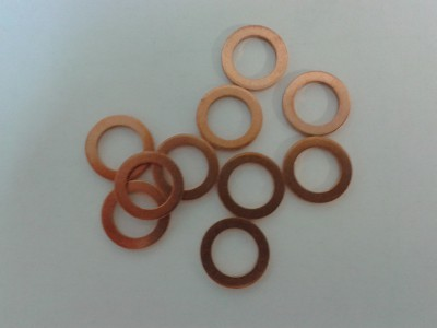 Brake Banjo Annealed Copper Washers 10 mm