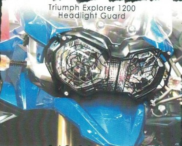 Tiger 800 and Explorer Headlight Guard