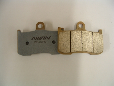 Nissin front brake pads, sintered. Daytona 675 06-08, 1050 Speed Triple and 1050 Tiger.