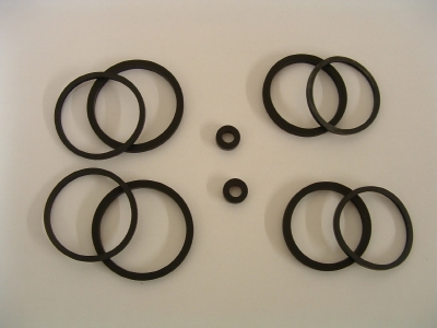 B056 4 piston front caliper seal kits for Nissin and Triumph calipers