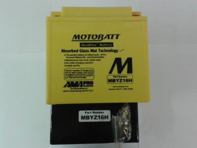 YTX14BS Motobatt 16.5 Amp hour Upgrade