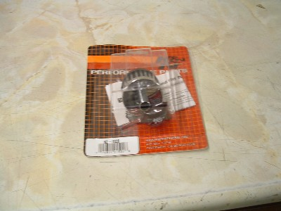 Clutch cover breather filter (K & N) for use when separate air filters are fitted