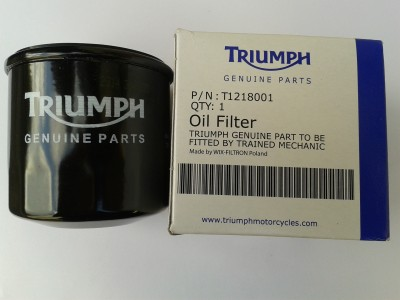 Oil filter screw on type, genuine for T595/955 ST, RS and Bonneville