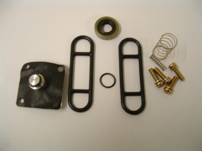 Petrol tap seal rebuild kit for vacuum tap on carburettor 3 and 4 cylinder models.